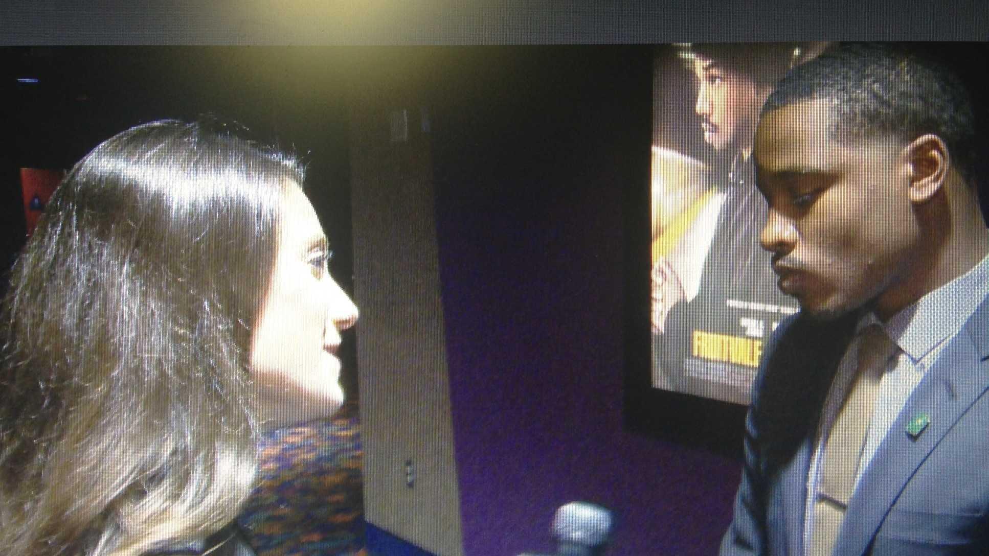 "KCRA 3's Mallory Hoff interviews Ryan Coogler, the award-winning director of ""Fruitvale Station"" (July 23, 2013)."