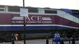 ace train, train, commute, Altamont Corridor Express, stockton, passengers, silicon valley, Turlock, merced, stanislaus county, track,