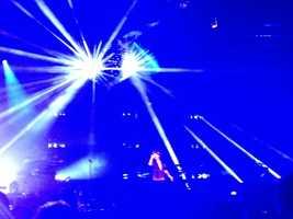 "The ""Unorthodox Jukebox"" singer tweeted fans, ""Sacramentoooooooooooooo!!!!!!!!!"" after an encore performance at Sleep Train Arena in Sacramento on Wednesday (July 24, 2013)."