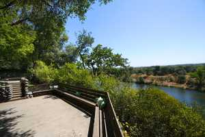 This home rests on 1.97 acres of land and has spectacular views at every turn.