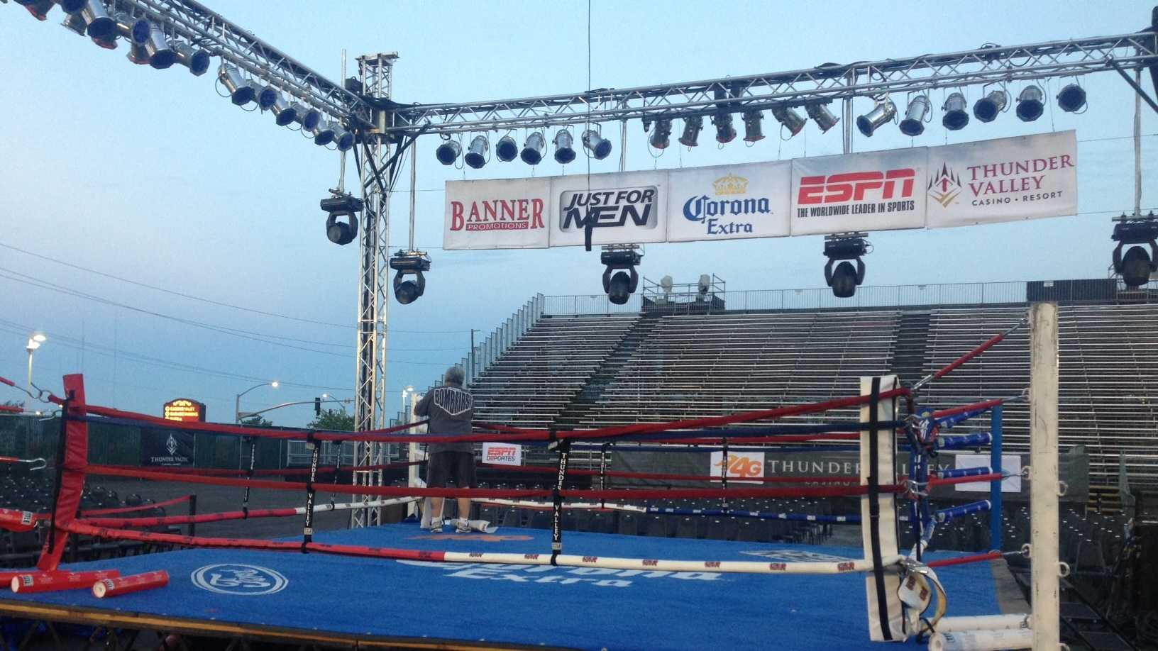 The seven-bout event will be broadcast around the world by ESPN, the first nationally televised boxing event to come to Sacramento in 10 years.