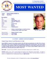 Daniel William HiersWanted on charges of: Unlawful flight to avoid prosecution. Hiers is suspected of homicide and sexual molestation.Click here to see full wanted poster