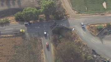 The California Highway Patrol said the crash occurred when the motorcycle and truck collided along County Road 85 near County Road 15B.
