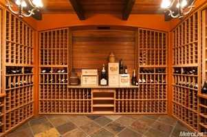 Wine lovers take note -- a wine closet can hold lots of special selections.