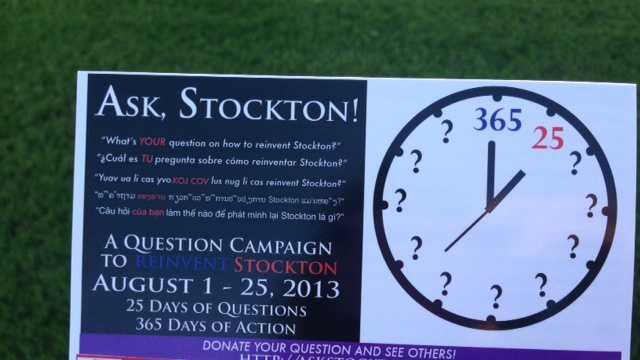 Ask Stockton Campaign