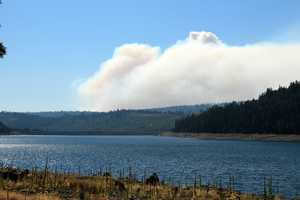 An air quality warning was issued for Placer County.