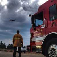 Firefighters are battling the so-called American Fire in steep, rugged Placer County terrain.