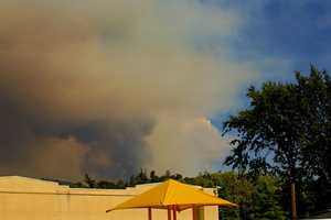 A fire burning in Tuolumne County grew to more than 16,000 acres in size Wednesday morning.