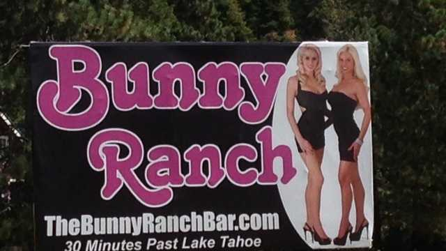 Bunny Ranch sign