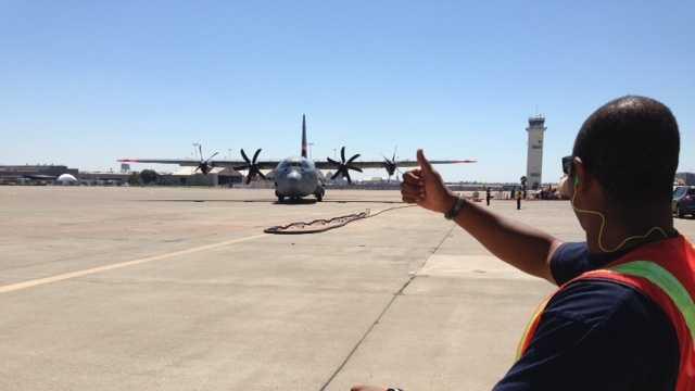 McClellan planes arriving