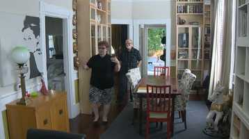 Barbara Holmes and Tom Williams will show off their renovated house during the Sacramento Old City Association's Home Tour on Sept. 15.