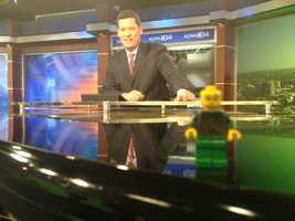 7. I love it when I find one of my son's Lego guys in my suit coat while on set. He always wants them back.