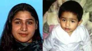 The Sacramento Police Department is seeking the community's help in finding Fariha Kanwal, 23, and her son, Zakir Zamurad (courtesy photo).