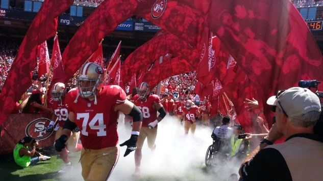 The San Francisco 49ers (file photo)
