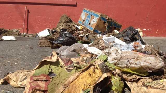 Sacramento County garbage problem