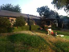 A Stockton family is homeless after a generator they were using to power their home caught fire.