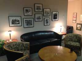 Are you a guest at KCRA? Then you'll be able to wait here in the KCRA 3 greenroom.