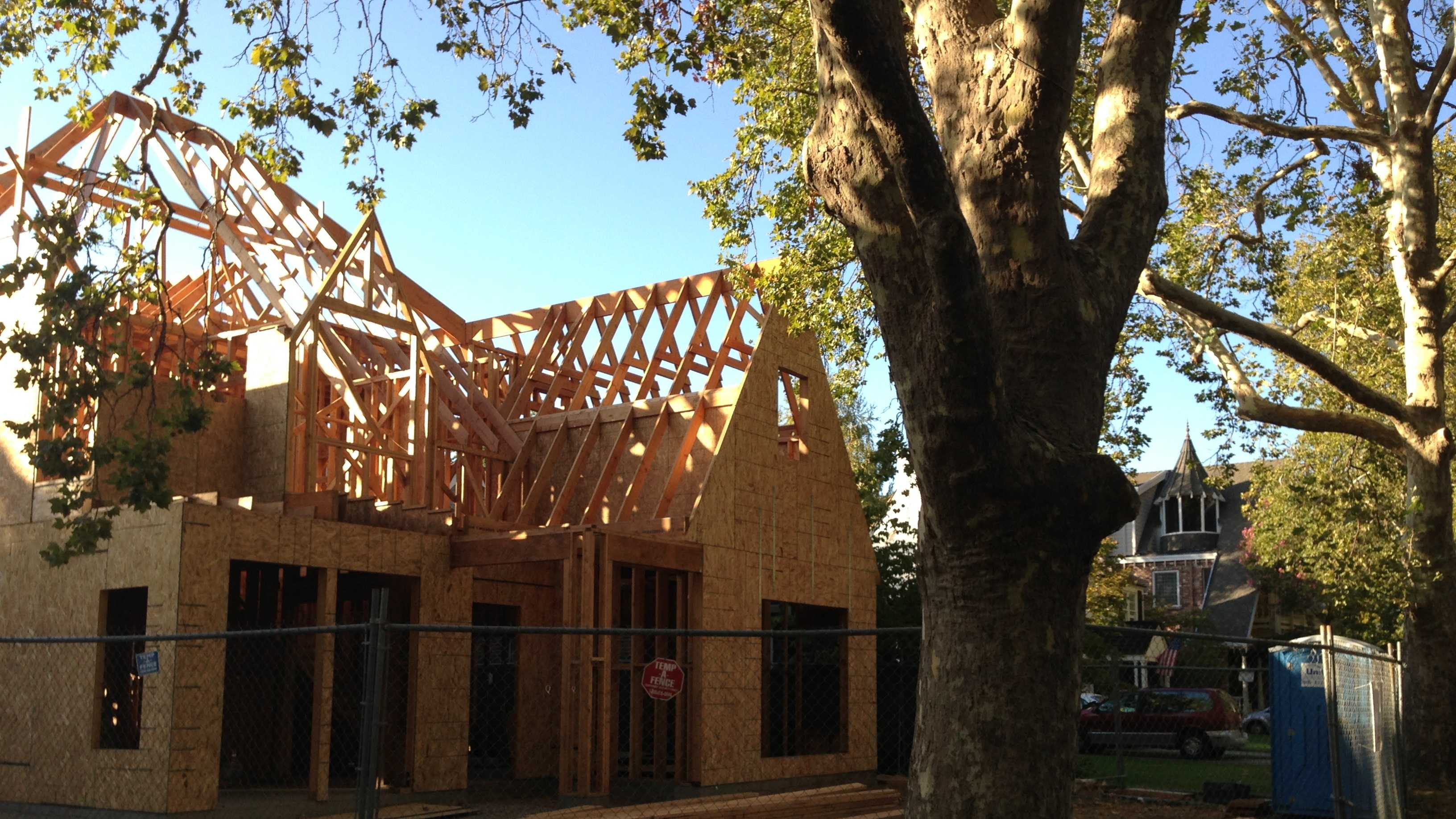 The house on 41st Street in Sacramento has been ordered to be partially demolished.