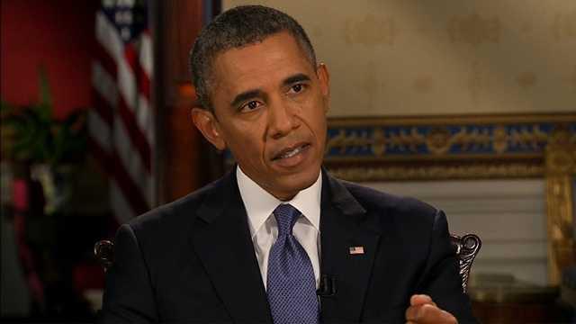 Obama Syria interview