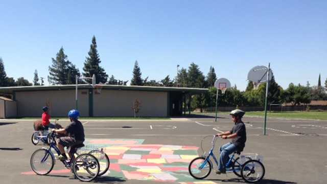 Sherwood Elementary Tricycles