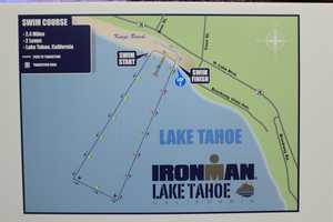 Here's a map of the swim course.