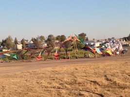 Symbiosis Gathering is an event offering music, art, workshops and seminars -- and it's the first time the festival has come to Oakdale's Woodward Reservoir.
