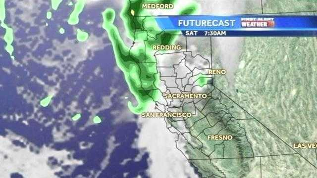 First Alert Weather: System making move toward Sacramento