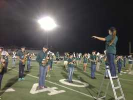 Marysville High School traveled to Yuba City for a Friday night matchup against River Valley.