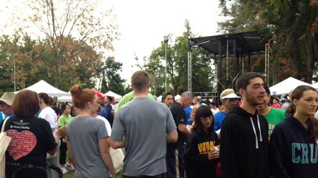 Thousands participate in Sacramento Heart Walk