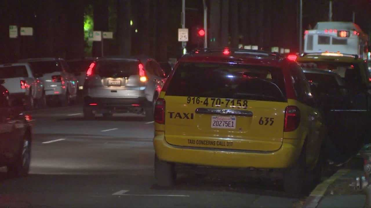 img-Uber driving service makes taxi services upset
