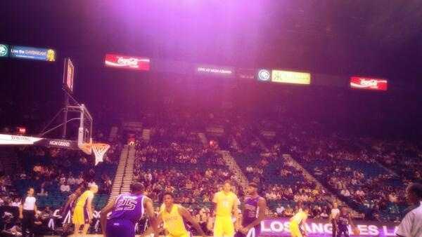 Sacramento Kings in Las Vegas