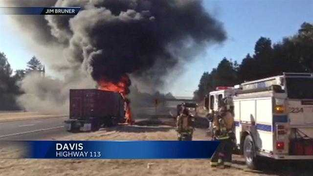Highway 113 lane closure