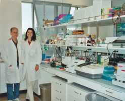 I learn a lot about cutting-edge cancer research from my sister and brother-in-law, who work at the Fred Hutchinson Cancer Research Center. They study prostate cancer, and previously, my sister worked to identify diagnostic markers and therapeutic targets of breast cancer.
