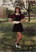 OK, here's the obligatory high school photo! At this age, I was very serious about dance, and considered becoming a professional dancer.