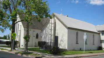 The Methodist Church in Roseville was the first church built in the area.