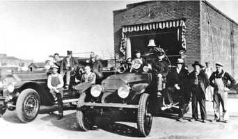 Roseville's first fire station was built in 1927 at the intersection of Lincoln, Church and Main streets.