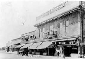 "The opera house was built by Alexander Bell in 1908 as locals hoped to shape Roseville as a ""proper town."""