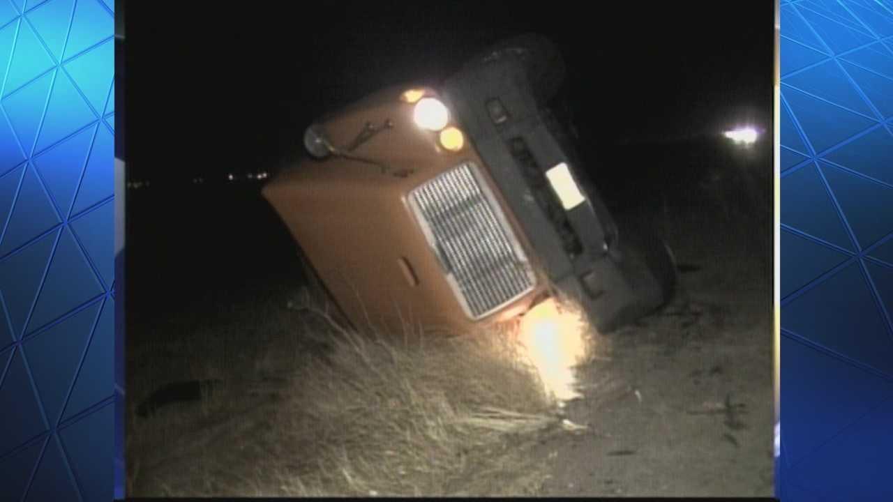 img-High winds knock over trucks along 580