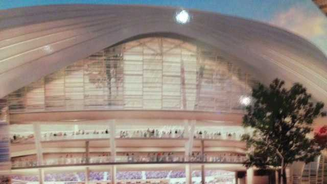 New conceptual drawings of a downtown arena in Sacramento were released in October (Oct. 29, 2013).