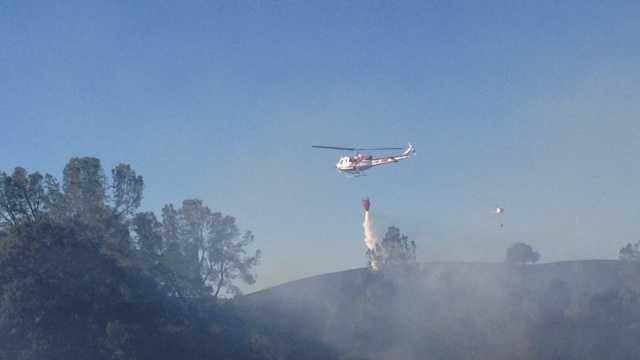 Yolo County fire