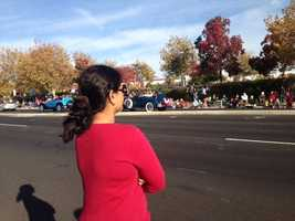 Veterans Day march in Folsom