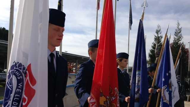 veterans day parade, mather air force base, honoring men and women, floats, marching bands, kcra, kcra 3, kcra.com, kcra3, kcra news, kcra channel,
