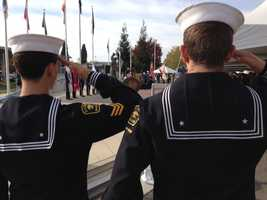 Veterans Day event in Rancho Cordova