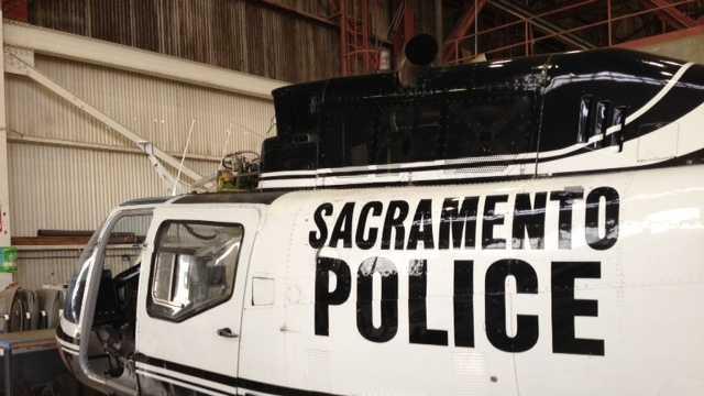 Sacramento Police helicopter