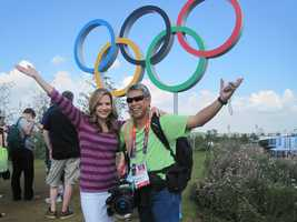 "14.) I have seen more of the world with my Olympic partner, Mike ""Domi"" Domalaog, than I have my husband."
