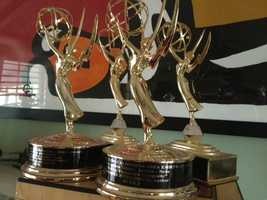 24.) I have four Emmys in writing, reporting and anchoring. Can you believe you can win a prize for reading out loud?