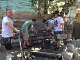 Gene and Jami Grover were part of a 10-member group from Shelter Cove Community Church in Modesto that went on a two week mission trip to Boracay Islands in the Philippines. During their trip, Typhoon Haiyan hit the country.