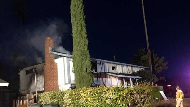 Firefighters: Squatters burn Carmichael home