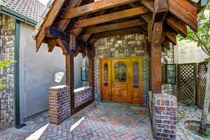 The home is situated at about 1,200 feet in the covered foothills of the Sierra not too far from the ridge of the American River in Auburn.