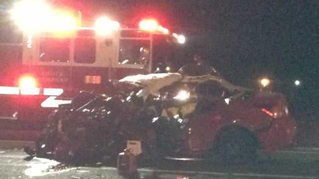 South Sacramento crash